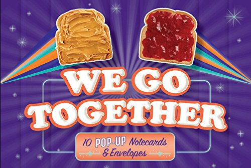 We Go Together: 10 Pop-Up Notecards & Envelopes (Friendship Themed Pop Up Greeting Card, Blank...