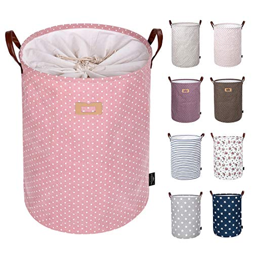 DOKEHOM 22-Inches Thickened X-Large Laundry Basket -(9 Colors)- with Durable...