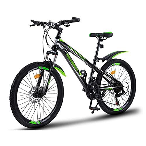 OFFA Bicicleta para Niñas 20 Bicicleta De Montaña De 22 Pulgadas para Niños, Niños De 6 A 15 Años, Bicicletas De Crucero, Amortiguación De Actualización De 21 Velocidades, Freno De Disco Doble
