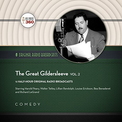 The Great Gildersleeve, Vol. 2 audiobook cover art