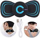 CHUANGE Portable Mini Cervical Massager-Battery Powered Tissue Massager- Wireless Neck Massager-Mini Electric Neck Massager for Muscles, Back, Foot, Neck, Shoulder, Leg, Calf Pain Relief