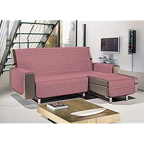 Biancheriaweb - Sueños cálidos y Profundos con Productos de colombi - Funda para sofá Chaise Longue - 280 cm