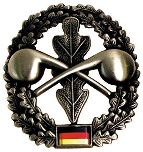 Bundeswehr Barettabzeichen BW Mützen Abzeichen Metallabzeichen Militärabzeichen Verschiedene Truppengattungen (ABC-Abwehrtruppe)