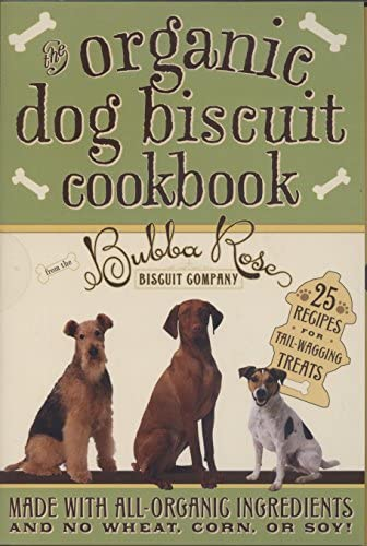 Organic Dog Biscuit Cookbook product image