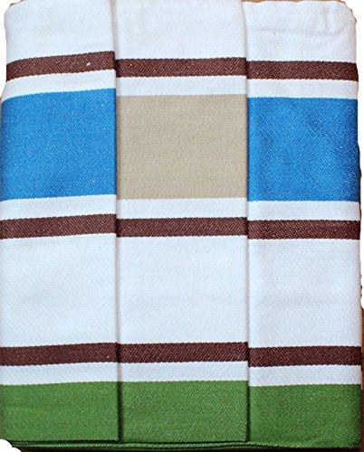 KH-Haushaltshandel 3er Pg. Geschirrtücher, ca. 50 x 70 cm, ägyptische Baumwolle, Geschirrtuch, Trockentuch, Gläsertuch, ÖKOTEX (Dessin 3)