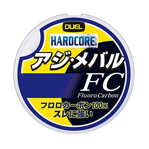 デュエル(DUEL) フロロカーボンライン ハードコア アジ・メバル FC 150m 0.5号 2.0Lbs. ナチュラルクリア H...
