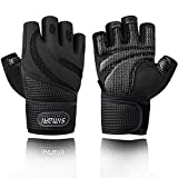 SIMARI Workout Gloves Men Women Full Finger Weight Lifting Gloves with Wrist Support for Gym Exercise Fitness Training Lifts Made of Microfiber and Spandex Fiber SMRG902