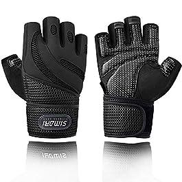 SIMARI Workout Gloves Men Women Full Finger Weight Lifting Gloves with...