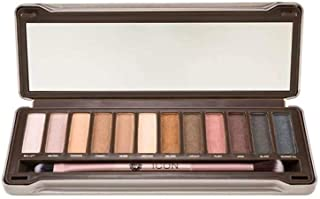 Absolute New York Icon Eye Shadow Palette Exposed With Brush & 12 Neutral Shades - Multicolor