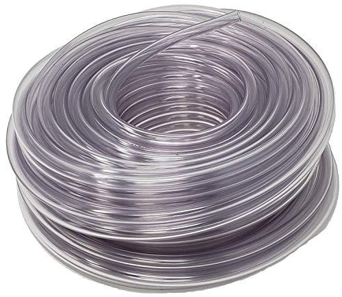 Rollerflex Food Grade Crystal Clear Vinyl Tubing, 1/2-Inch ID x 5/8-Inch OD, 100-FT, Made in USA