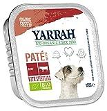 Yarrah Pate Rind Spirulina 150g Bio Hundefutter, 14er Pack (14 x 0.15 kg)