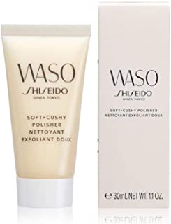 SHISEIDO Waso Soft + Cushy Polisher gezichtspeeling, 30 ml