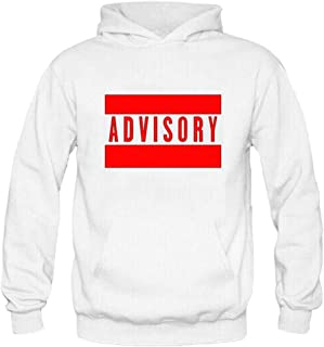 Comeon Men's Hoodies Thick Graphic Printed Letter Hooded Pullover Heavy Cotton Sweatshirt Hoodie with Kangaroo Pockets
