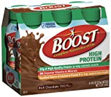 Boost High Protein Nutritional Energy Drink, Chocolate, 8 Ounce Bottle (Pack of 24)