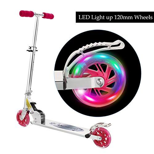 La trottinette enfant avec roues à LED