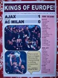 Sports Prints UK Ajax 1 AC Milan 0-1995 Champions League