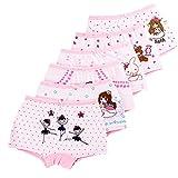LeQeZe De 6 Bébé Fille Panty Culotte Filles Enfants Coton Boxer Slip Pantalon...