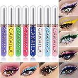 Best Waterline Eyeliners - MEICOLY 8 Colors Liquid Eyeliner Colorful Set, Matte Review