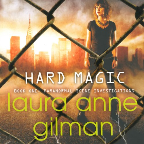 Hard Magic Audiobook By Laura Anne Gilman cover art