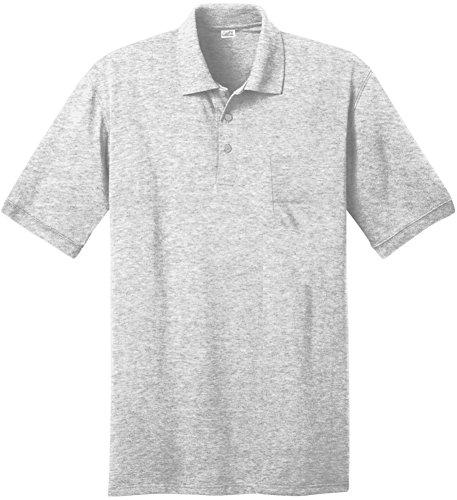 Joe's USA Men's Short-Sleeve Pocket Polo Shirts in 10 Colors. Sizes XS-6XL
