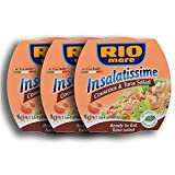 Rio Mare Insalatissima Couscous & Tuna Salad Can (Pack Of 3), 16.8 Ounce Total
