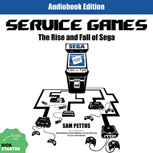 Service Games audiobook cover art