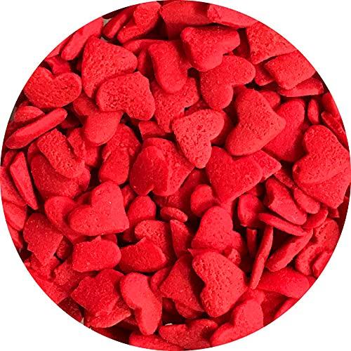 Red Hearts Sprinkles