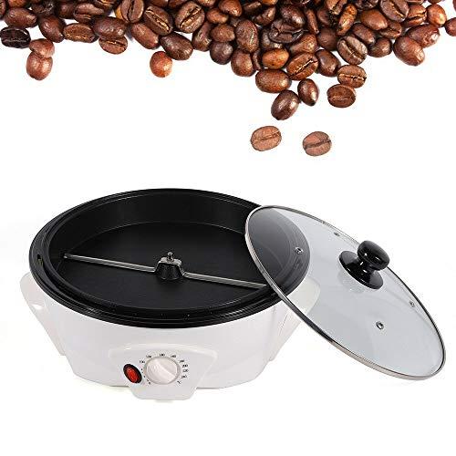 BTdahong 1200W Tostador de Granos de Café, Tostadora de Café para Hogar, Mini Tostadora Rotativa de Acero Inoxidable, Máquina Eléctrica de Tostado de Frutas Secas