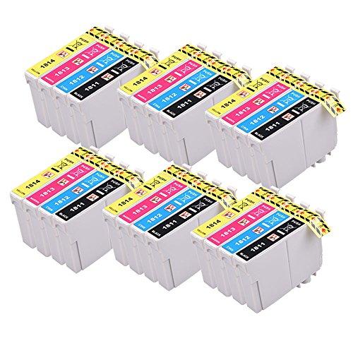 8 PerfectPrint Compatibile Inchiostro Cartuccia Sostituire T1811 T1812 T1813 T1814 (T1816) Per Epson XP102 XP202 XP212 XP215 XP205 XP225 XP30 XP302 XP305 XP312 XP315 XP322 XP325 XP402 XP412 XP415 XP405 XP405 XP405WH XP422 XP425 Stampante