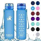 KollyKolla Gourde Sport - 350ml, Bouteille d'eau Reutilisable avec Filtre, Gourdes...