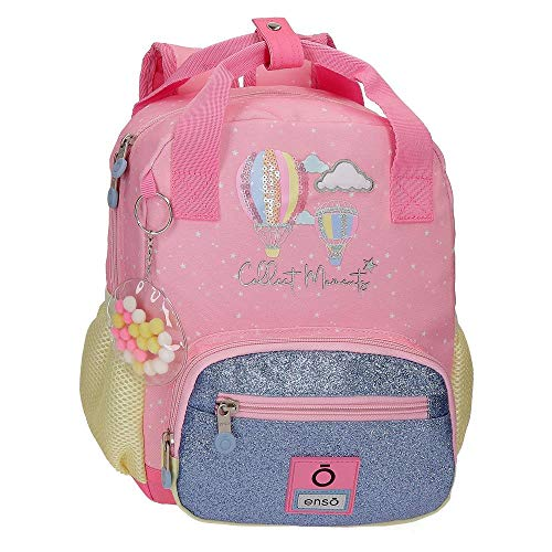 Mochila Pequeña Enso Collect Moments 23x28x10 cm Multicolor