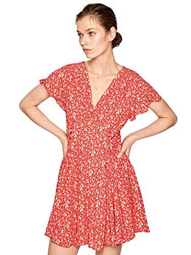 Pepe Jeans Damen Kleid, Mehrfarbig (Multi 0aa), Large
