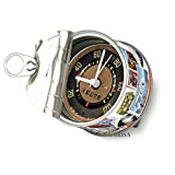 Brisa VW Collection Tischuhr Magnetuhr MyClock mit VW T1 Bulli Bus T1 Motiv - Briefmarken