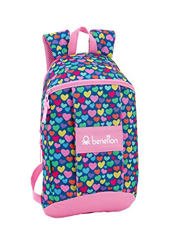 United Colors of Benetton Cuori Mochila Tipo Casual, Senderismo