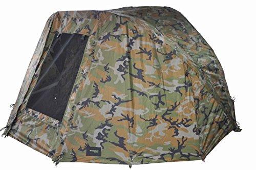 MK-Angelsport Winterskin Ghost für Fort Knox - 2 Mann Dome (kein Zelt nur Überwurf), Carp Dome, Overwrap Bivvy/Angelzelt