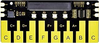 KEYESTUDIO BBC Microbit Mini Piano Module (no Microbit Board), Touch Keys to Play Music, Micro:bit Edge Connector Directly...