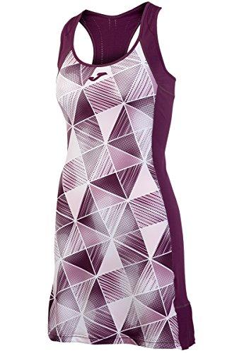 Joma - Vestido Estampado grafity Burdeos para Mujer