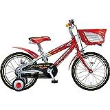 ブリヂストン 子供用自転車 クロスファイヤーキッズ CK186 レツド&シルバ-