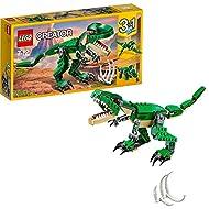 LEGO31058CreatorMightyDinosaursToy,3in1Model,TriceratopsandPterodactylDinosaurFigures,...