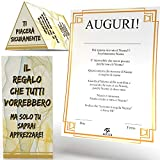 Aurìca Regala Il Niente Triangolare - Il Regalo Che Tutti Vorrebbero - Regalo Divertente ...