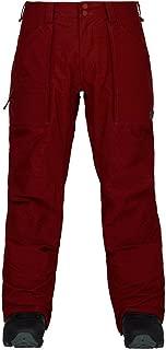 Burton Southside Regular Fit Ski Snowboard Pants Fired Brick Red, Men's Medium