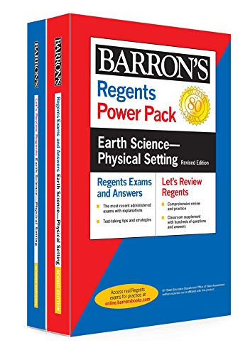Compare Textbook Prices for Regents Earth Science--Physical Setting Power Pack Revised Edition Barron's Regents NY Revised Edition ISBN 9781506264677 by Denecke Jr., Edward J.