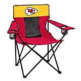 Logo Brands Officially Licensed NFL Kansas City Chiefs Unisex Elite Chair, One Size, Team Color