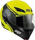 AGV Casco Moto Compact St E2205 Multi PLK, Course Yellow/Black, XL