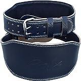 RDX Gimnasio Cinturón Cuero 6' Peso Musculacion Entrenamiento Cinturones Pesas Levantamiento