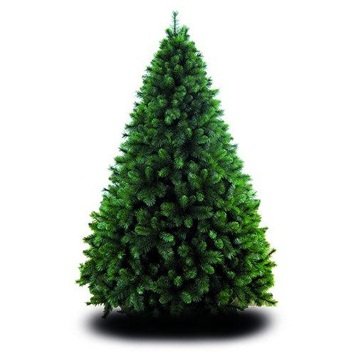 Giocoplast Germogliato Albero di Natale Maxi con 1251 Rami, Metallo, Verde, 180 cm