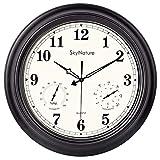 Best Outdoor Clocks - Large Outdoor Clock, 18 Inch Waterproof Clock Review
