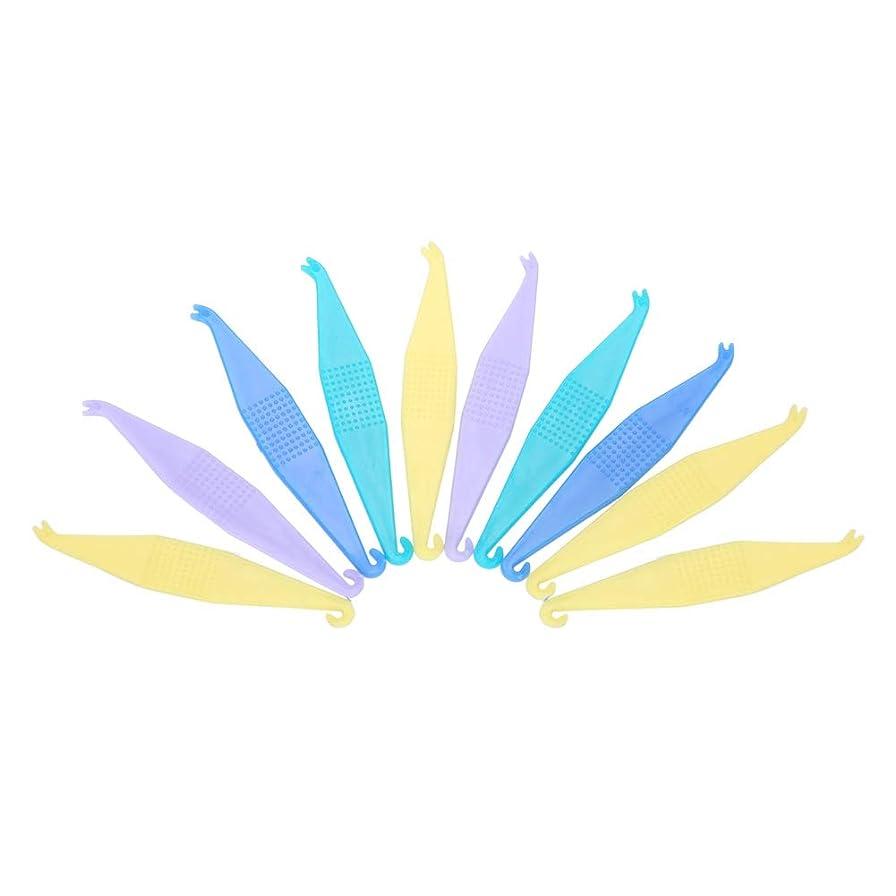 失望させる魚みTOPINCN 【10個セット】使い捨て矯正用弾性プラスサーズ 歯科用 使い捨て プラスチック製 歯列矯正歯科用プラスター 安全 衛生