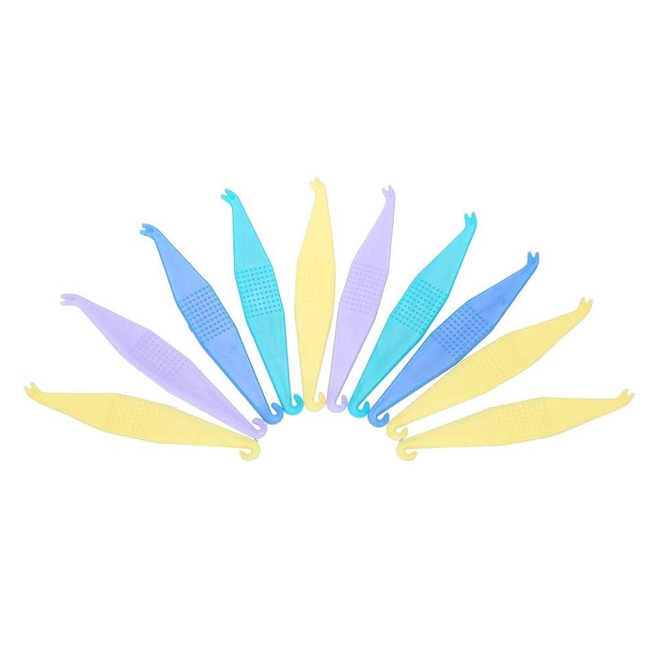 浅い討論火曜日TOPINCN 【10個セット】使い捨て矯正用弾性プラスサーズ 歯科用 使い捨て プラスチック製 歯列矯正歯科用プラスター 安全 衛生