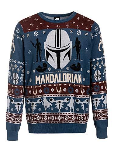 Star Wars The Mandalorian - Bounty Hunter Christmas jumper meerkleurig S